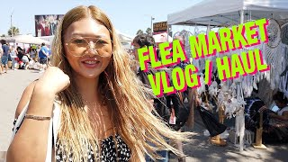 Flea Market & Thrift Vlog and Haul