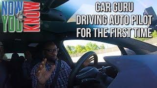 First Time Autopilot! Rich the Car Guru!