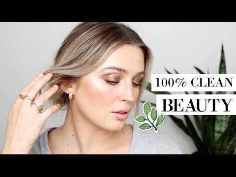 Full Face Using 100% CLEAN BEAUTY 🌿#FFF