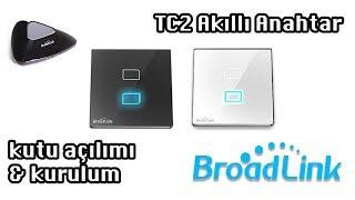 IŞIKLARINIZI TELEFONDAN YÖNETİN (BroadLink TC2 Akıllı Anahtar Priz İnceleme)