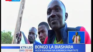 Mwanamume katika kaunti ya Taita Taveta anakimu  maisha ya familia yake kwa kuuza kahawa na karanga