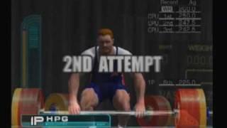 ESPN Track n Field: Weightlifting