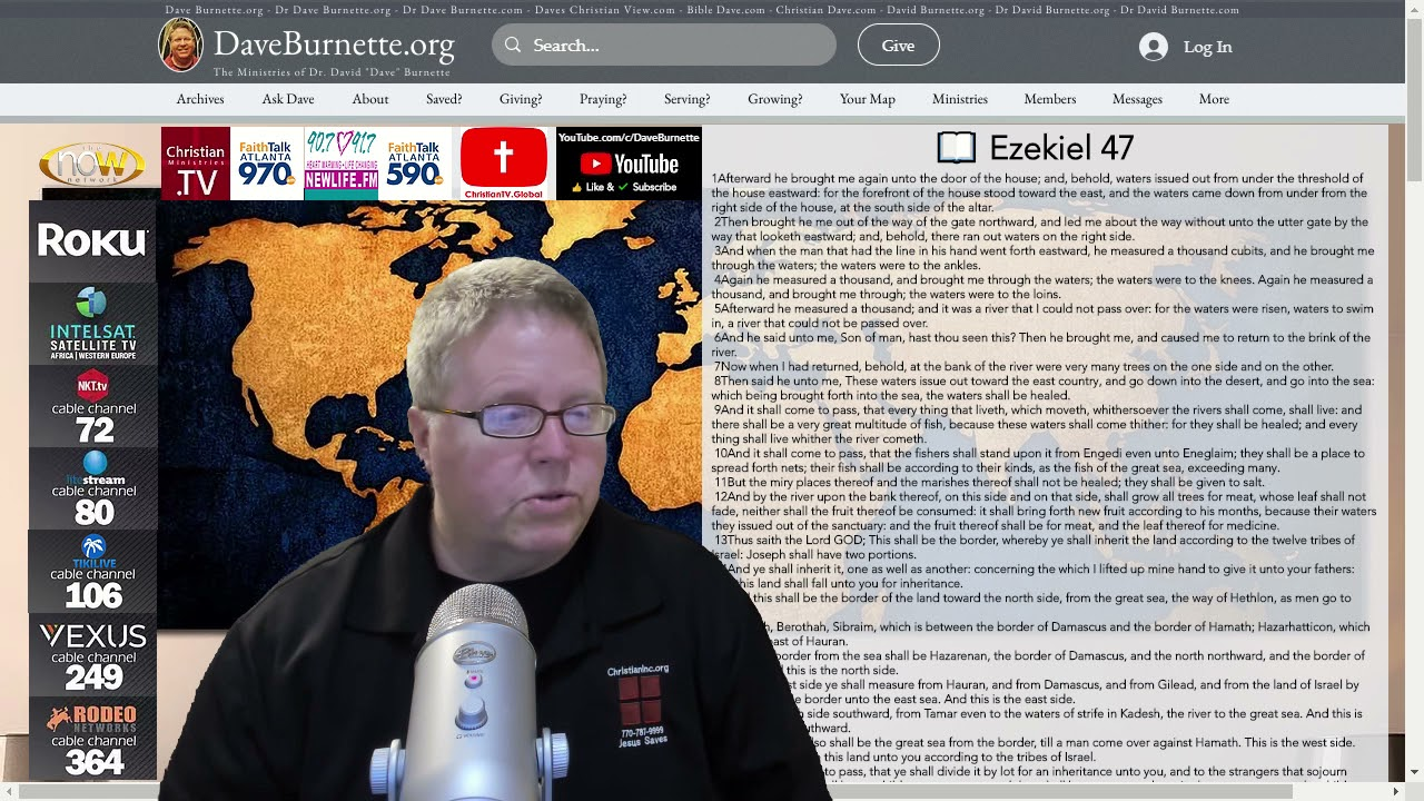 Ezekiel 47 ✒️ Share the Gospel