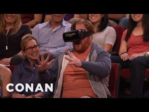 CONAN Unveils Its New Virtual Reality Technology  - CONAN on TBS