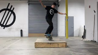 Getting a New Skate Trick Down!