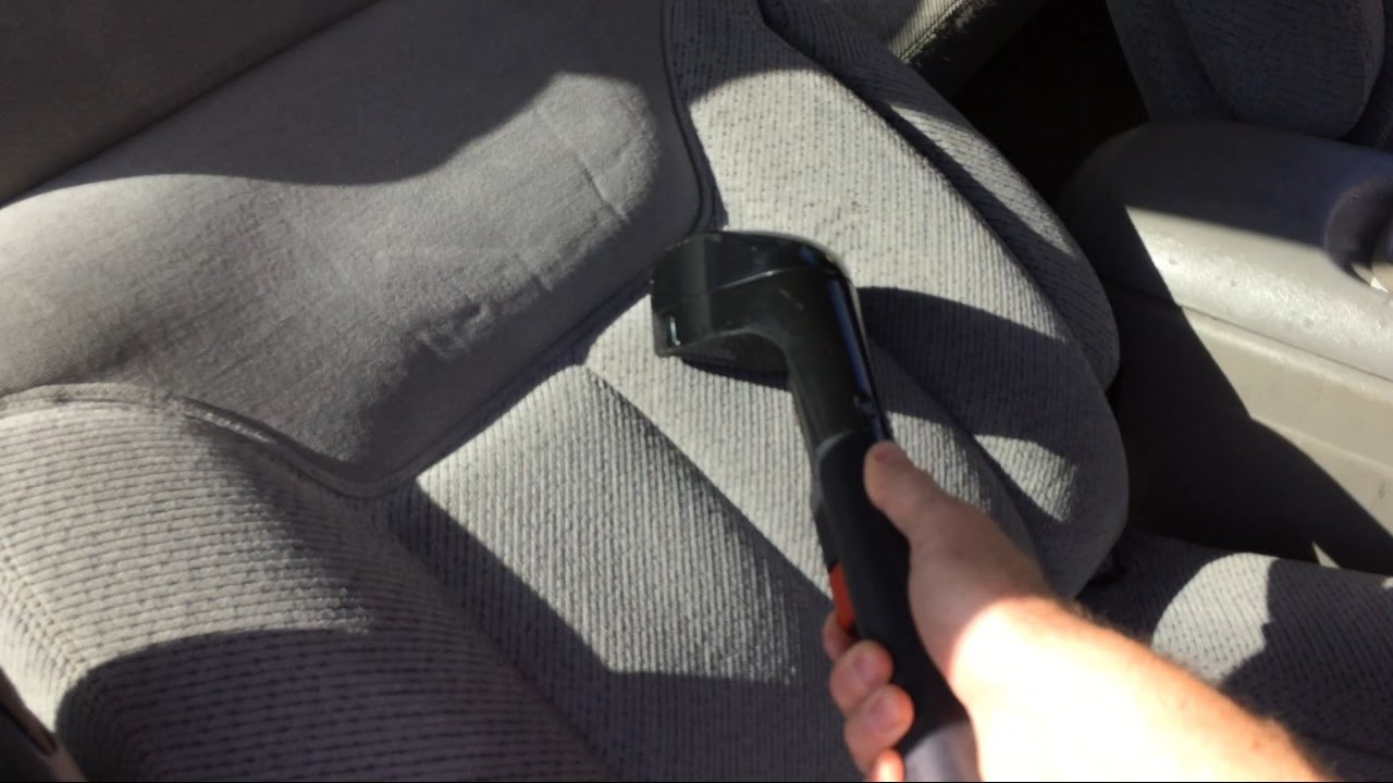 how to clean car upholstery stains