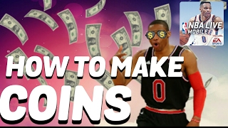 How to make coins in NBA Live Mobile 2017