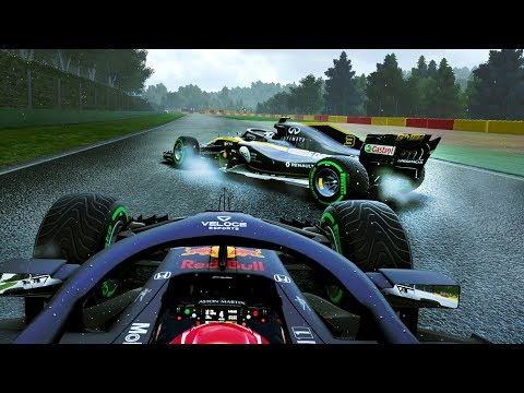 ULTIMATE ENGINE UPGRADE BUT....MGU-H 100% WEAR! DRAMA IN BELGIUM! - F1 2018 Career Mode Part 118
