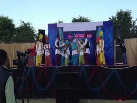 LBDC PATIALA  BHANGRA And JHUMAR 2012 .flv