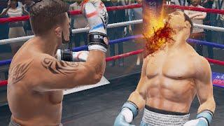 Real Boxing 2 Rocky Моментальныи? Нокдаун