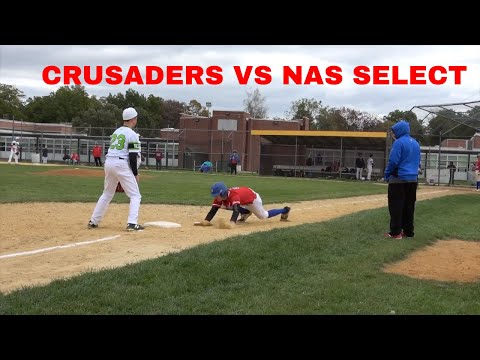 CRUSADERS BASEBALL CLUB VS NORTH ATLANTIC SELECT TEAM PREMIER