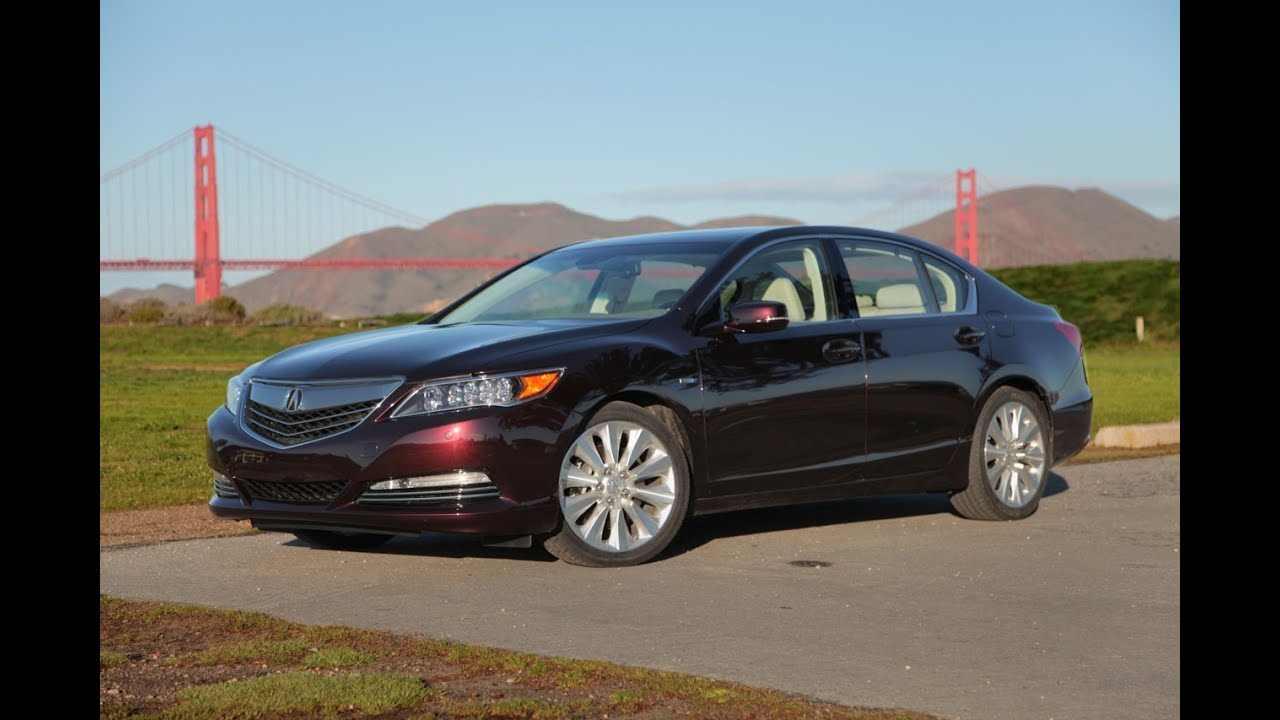 2014 Acura RLX Sport Hybrid Review - YouTube
