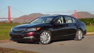 2014 Acura RLX Sport Hybrid Review