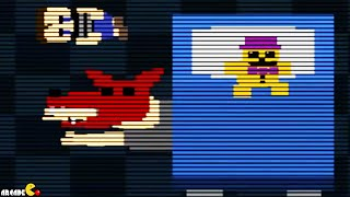 Five Nights at Freddy's 4: NIGHT 3 MINI GAME JUMPSCARES FNAF 4