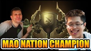 arteezy mao nation team americas division tier 7 battle cup dota 2
