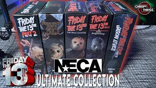 The COMPLETE Neca Friday the 13th ULTIMATE Jason Voorhees Figures! Part 2-6!