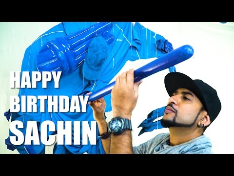 Thumbnail: Mad Stuff With Rob - Tribute to Sachin by Zeven & Rob | Happy Birthday Sachin!