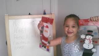 видео-урок 4. играем и учимся.канадская школа.ФРАНЦУЗСКИЙ ДЛЯ ДЕТЕЙ. ДЛЯ НАЧИНАЮЩИХ.новый год