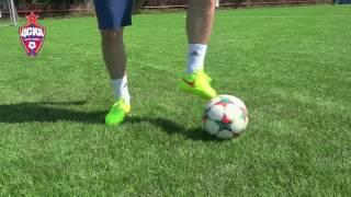 Урок №3 - Видео уроки по футбольным упражнениям от Евгения Алдонина