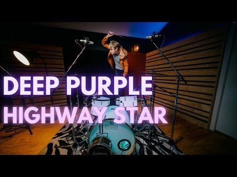 Deep Purple Highway Star Drum Cover By Murray Sheridan