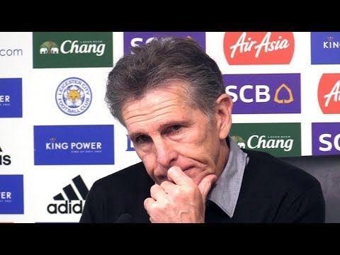 Claude Puel Full Pre-Match Press Conference - Leicester v Tottenham - Premier League