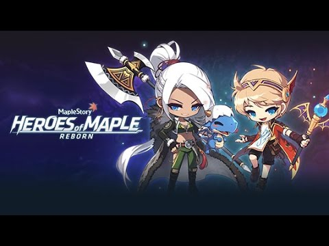 Let's Play Maplestory Heroes of Maple Reborn Part 1: Tiny Immortal Dragon