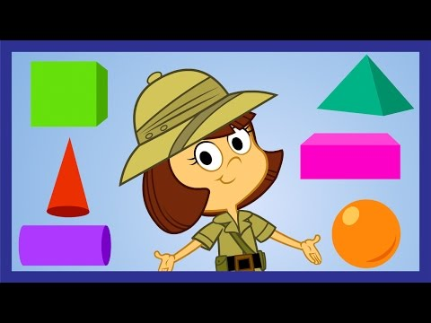 Shawnas 3D Shapes  ABCmousecom