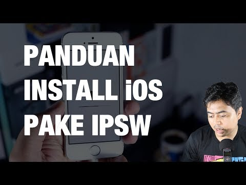 Cara Upgrade / Downgrade IOS Dengan IPSW — Beserta Kelebihan Dan Kekurangannya | MacPoin #2