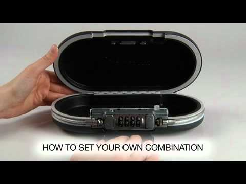 Operating the Master Lock 5900D SafeSpace® Portable Personal