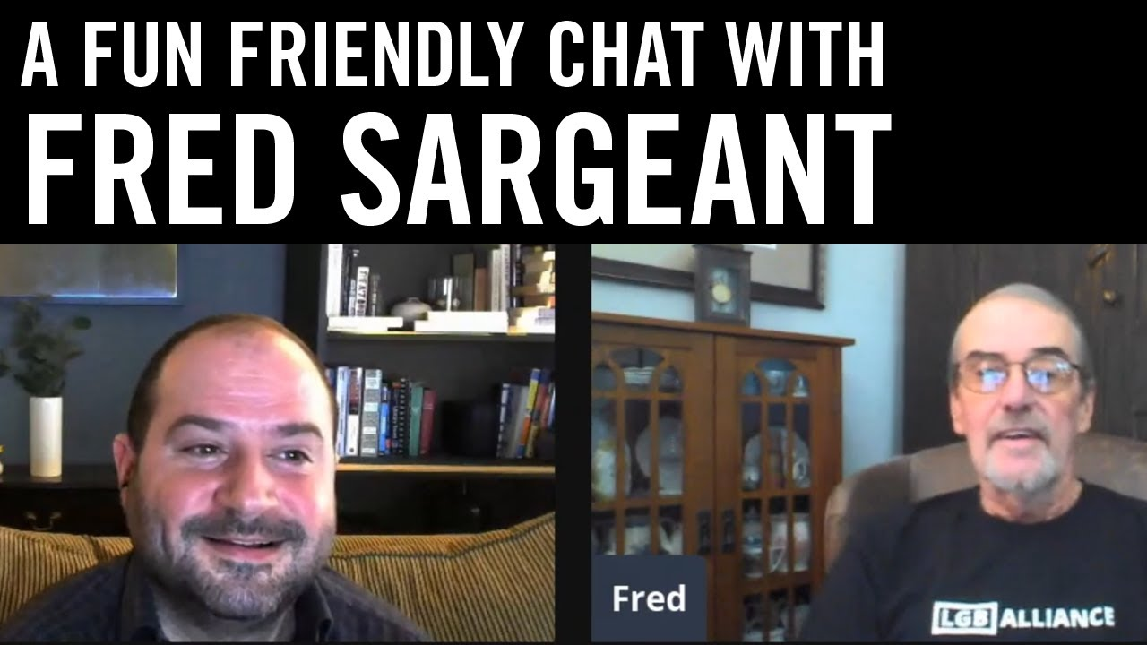 A Fun Friendly Chat with Fred Sargeant - YouTube