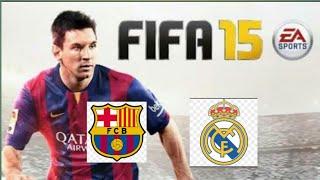 Retro FIFA 15 gameplay.Real maadrid vs Fc barcelona.PC.