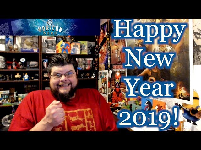 Happy New Year from Koricon Nerd! Goals & Channel Info for 2019!