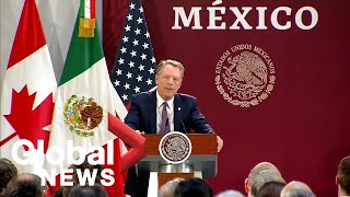 Lighthizer says U.S. is invested in Mexico's success as countries amended CUSMA deal Video
