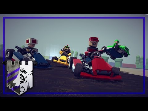 Discount Mario Kart | BESIEGE v 0.60 | Stage from Other Realms #2