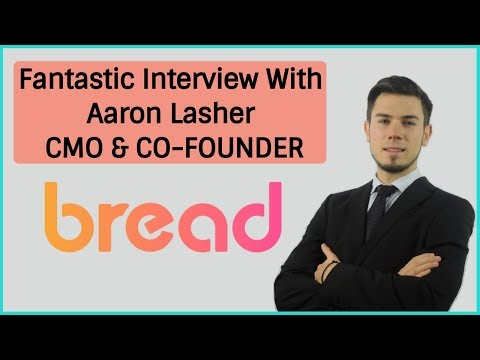 Bread Cryptocurrency - Fantastic Interview With Aaron Lasher CMO & CO-FOUNDER