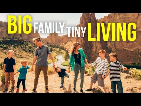 BIG FAMILY, TINY LIVING - HOW LIVING IN 320 SF HAS GROWN OUR LOVE // Cupid in a Camper 2018