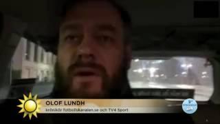 Maskerade män gick till attack mot Jordan Larsson  - Nyhetsmorgon (TV4)