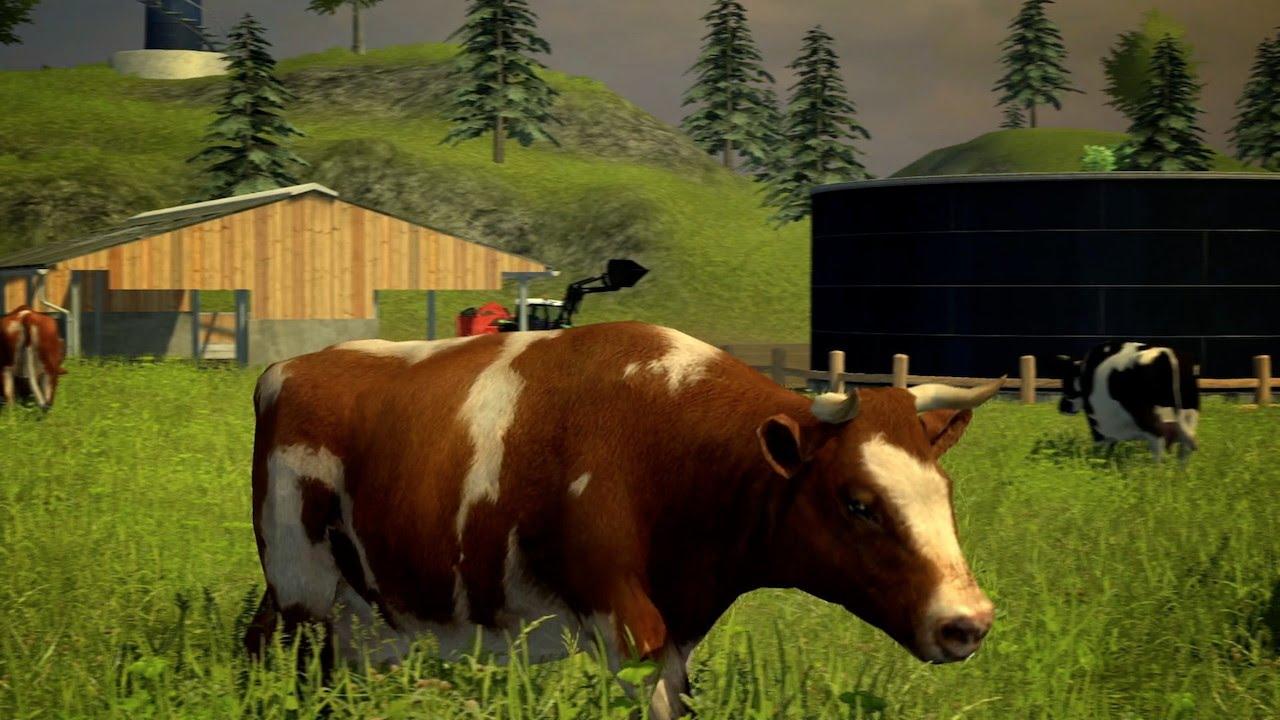 Farming Simulator Feeding Cows FS YouTube - Farming simulator 2015 us map feed cows
