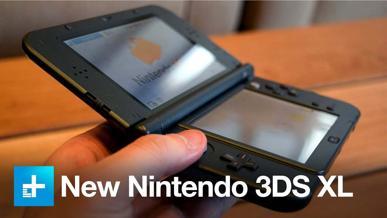 New Nintendo 3ds Xl Hands On Youtube