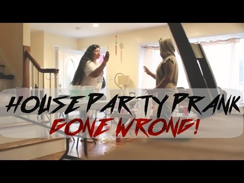 HILARIOUS HOUSE PARTY PRANK ON PARENTS!