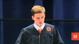 Stephen Barton '12 Delivers Convocation Address