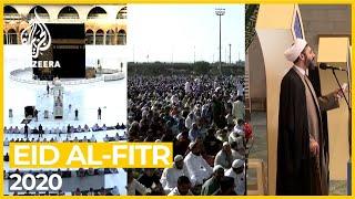 मक्का, कराची और तेहरान में ईद अल-फितर 2020