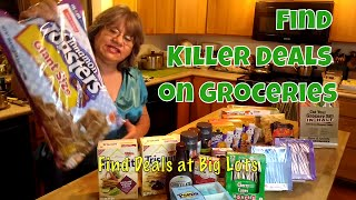 Cut Your Grocery Bill in Half Killer Grocery Deals at Big Lots Grocery haul at Dollar Tree