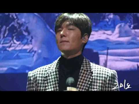 "160116 Lee Min Ho 1st Talk Concert  ""아픈사랑"""
