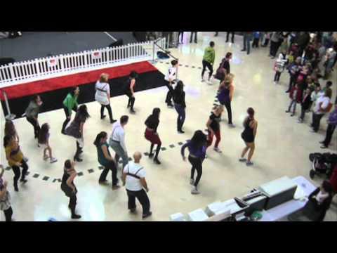 Purple Bra Day: Flash Mob | Breast Cancer Care WA