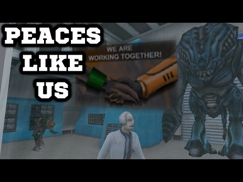 Half-Life Mods - Peaces Like Us - Супер МОД!