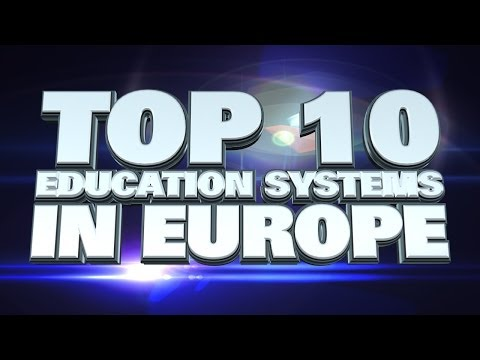 Top 10 Education Systems in Europe 2014