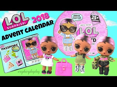 LOL Surprise Outfit of the Day #OOTD Unboxing Exclusive LOL Doll Jet Set Q.T Series 4 Eye Spy thumbnail