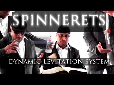 Spinnerets: Dynamic levitation magic system. Learn to float levitate