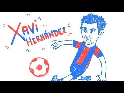 Xavi Hernández - Draw My Life